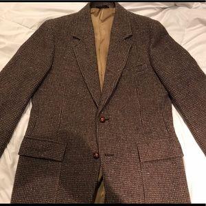 Pendleton sports jacket 42L tweed herringbone vtg